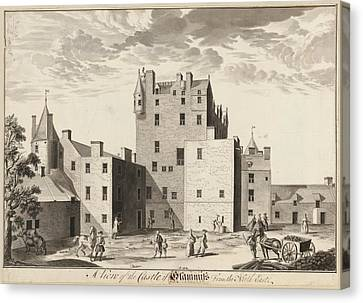 Glamis Castle Canvas Print by British Library