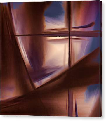 Glass Abstract Canvas Print by Carol Leigh