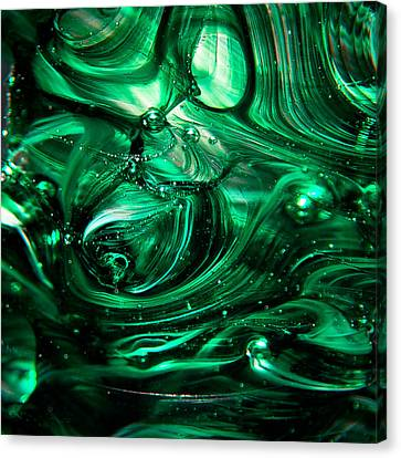 Glass Macro Abstract Egw2 Canvas Print by David Patterson