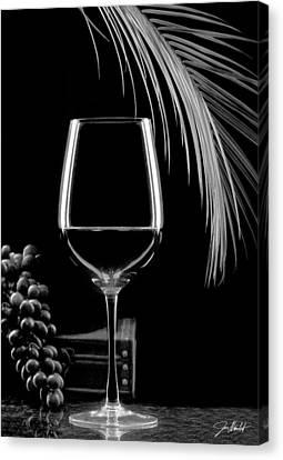 Glass Of Paradise Canvas Print by Jon Neidert