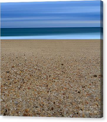 Glass Sand Canvas Print by Katherine Gendreau