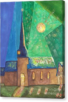 Glemroda Light Of God Canvas Print by John Williams