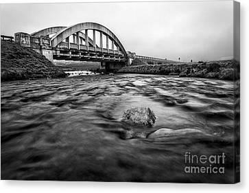Glen Coe Bridge Canvas Print by John Farnan