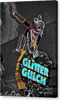 Glitter Gulch  Canvas Print by Rob Hawkins
