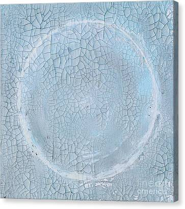 Global Fracture 3 Of 3 Canvas Print by Jeanne Wood