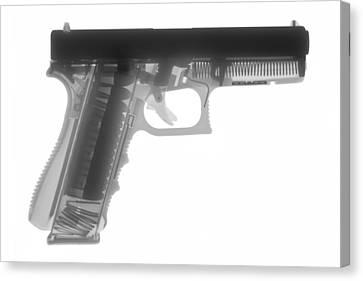 Glock G17 Canvas Print by Ray Gunz