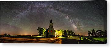 Glorious Night Canvas Print by Aaron J Groen