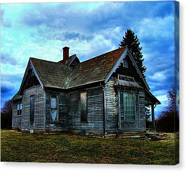 Glory Days Gone By Canvas Print by Julie Dant