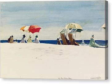 Gloucester Beach Canvas Print by Edward Hopper