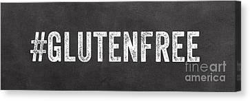 Gluten Free Canvas Print by Linda Woods