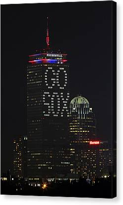 Go Boston Red Sox Canvas Print by Juergen Roth