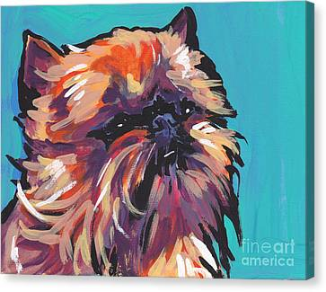 Go Griff Canvas Print by Lea S