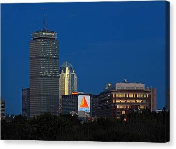 Go Red Sox Canvas Print by Juergen Roth