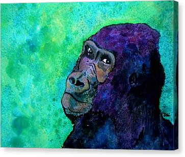Go Sit In Time Out Canvas Print by Debi Starr
