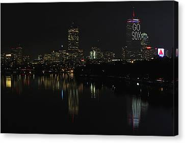 Go Sox Canvas Print by Juergen Roth