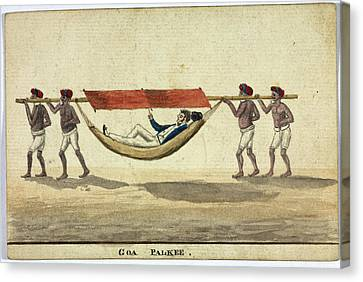 Goa Palkee Canvas Print by British Library