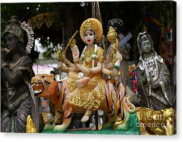 Goddess Durga Canvas Print by Gregory Smith