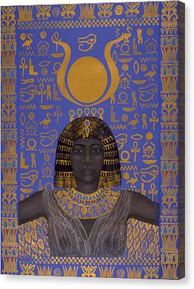 Goddess Isis Canvas Print by Diana Perfect