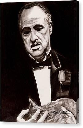 Godfather Canvas Print by Michael Mestas