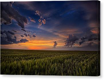 God's Country Canvas Print by Thomas Zimmerman