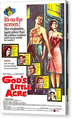 Gods Little Acre, Us Poster, Top Canvas Print by Everett