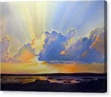 God's Paint Brush Canvas Print by Lamarr Kramer