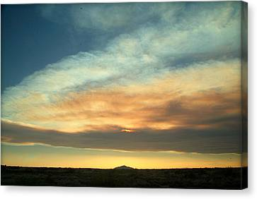 God's Pastels.. Canvas Print by Al  Swasey