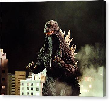 Godzilla, King Of The Monsters!  Canvas Print by Silver Screen
