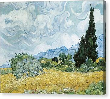 Gogh, Vincent Van 1853-1890. A Canvas Print by Everett