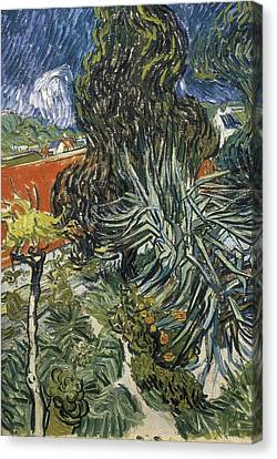 Gogh, Vincent Van 1853-1890. The Garden Canvas Print by Everett