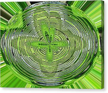 Going Green Canvas Print by Ella Char