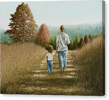 Going Home Canvas Print by Mary Ann King
