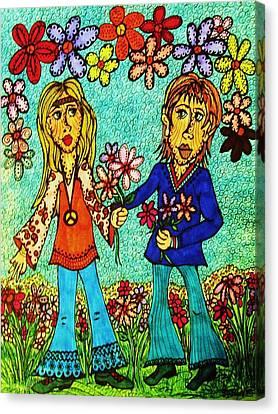 Going Steady  Canvas Print by Gerri Rowan