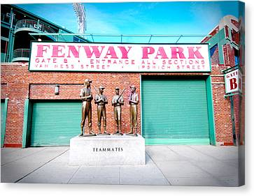 Going To The Park Canvas Print by Greg Fortier