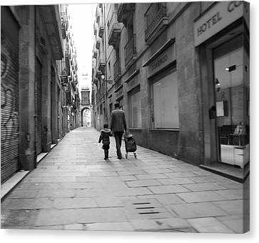 Going Where II Canvas Print by Art CineMedia