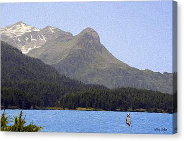 Going Where The Wind Blows Canvas Print by Jeff Kolker
