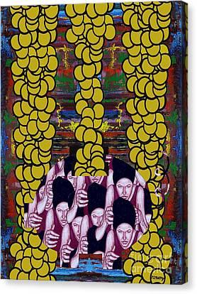 Gold 1 Canvas Print by Patrick J Murphy