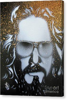 Gold Dude  Canvas Print by Christopher  Chouinard