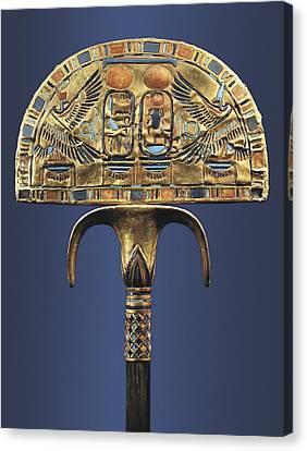 Gold Fan. 1333 Bc. Originally Canvas Print by Everett