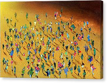 Gold Rush Canvas Print by Neil McBride