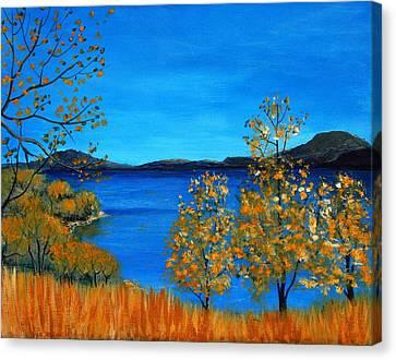 Golden Autumn Canvas Print by Anastasiya Malakhova