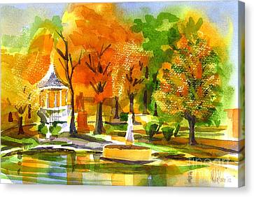 Golden Autumn Day 2 Canvas Print by Kip DeVore