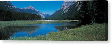 Golden British Columbia Canada Canvas Print by Panoramic Images