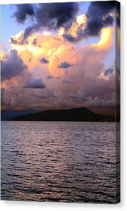 Golden Clouds Canvas Print by    Michael Glenn