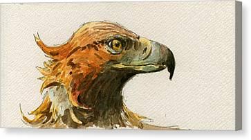 Golden Eagle Canvas Print by Juan  Bosco