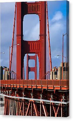 Golden Gate Bridge Canvas Print by Adam Romanowicz