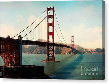 Golden Gate Bridge Canvas Print by Sylvia Cook