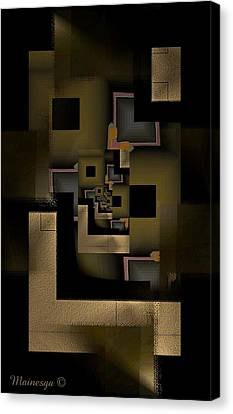 Golden Light Canvas Print by Ines Garay-Colomba