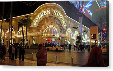 Golden Nugget Canvas Print by Kay Novy