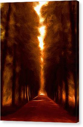 Golden October Canvas Print by Stefan Kuhn